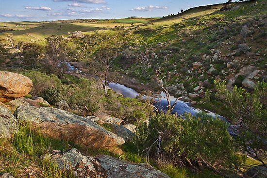 Reedy Creek, Mannum Falls by KathyT