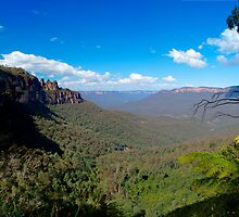 Katoomba, New South Wales. by Andy Newman