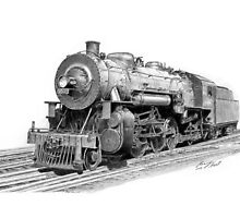 Locomotive by Ronny Hart