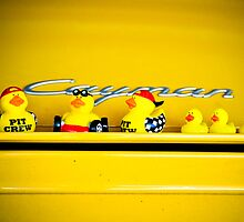 Yellow Ducks Racing picks a yellow car! by Susana Weber