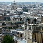 London at 200 feet by Steve Burke