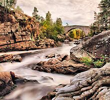 Little Garve Bridge.  by John Ellis