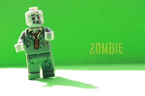 Green zombie by Emma Harckham