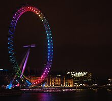 London Eye turns 10 by rualexa