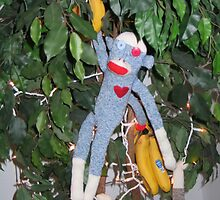 """Monkey goes Bananas"" by Donna Glaser/Hanna"