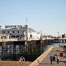 Brighton Pier by Lisa Williams