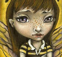 Bernie - the honey bee girl by tanyabond