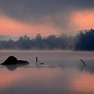 Mist on First Lake by Raider6569