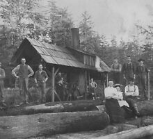 Logging Camp Formal Portrait by OregonCurly