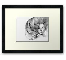 Fantasia..close up & natural Framed Print