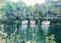 A marina of the late summer...?????????? by vasenoir