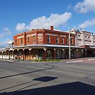 Nolan and Napier Streets, Maryborough, Victoria, Australia by Gregory John O'Flaherty