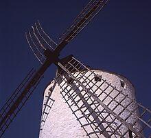 Windmill - Molino de Viento (Campo de Criptana) by Rafael López