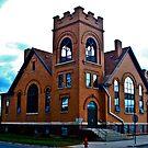 First M.E. Church, Miles City, Montana by Bryan D. Spellman