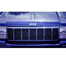 Jeep Cherokee 5.9 V8 American idol. Photographic Print