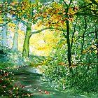 Forest Trail by Glenn Marshall