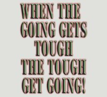 Get Tough! by TOM HILL - Designer