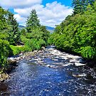 Falls Of Dochart,Scotland by Jim Wilson