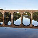 Bridge in Newport, Co. Mayo, Ireland by Pat Herlihy