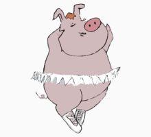 Ballerina Pig by Jennifer Kilgour