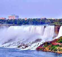 Evening at  Niagara Falls by Kathleen Struckle