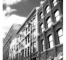 Cityscapes - Between the shades of grey Photographic Print
