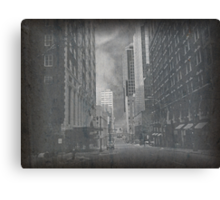 Cityscapes - The way things were.. and are..  Canvas Print
