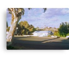 Pastel Landscape... Broken Hill Canvas Print