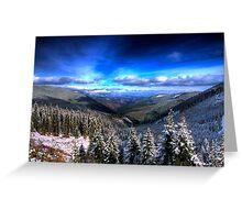 Winter Magic Greeting Card