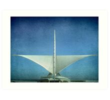 MAM-Milwaukee Art Museum ©  Art Print
