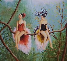 Birds of Paradise by Irene Owens