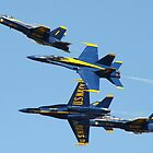 Blue Angels Criss Cross by jermesky