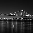 Benjamin Franklin Bridge by electron