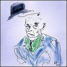 The Man without His Hat by Maria Cristina Homem de Mello