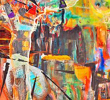 Hanging by a thread by Diane  Kramer