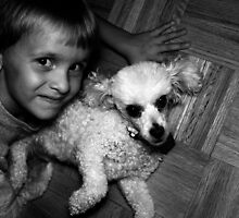 A Boy and His Dog by Joe Randeen