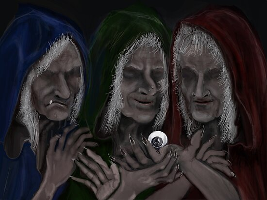 THE GRAEAE SISTERS by Ray Jackson