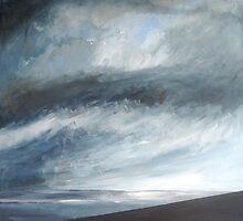 Storm Approaching, Cornwall by Sue Nichol
