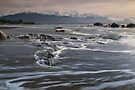 Kaikoura beach by Paul Mercer