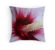 Heart of Hibiscus Throw Pillow