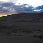 Dusk churns over the Great Sand Dunes, CO 2010 by J.D. Grubb