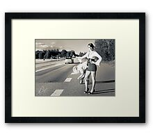 Know my Name (IX) The Bait Framed Print
