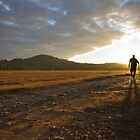 Visionary Sunset Walk - Tallangatta, Victoria by Luke Hogan
