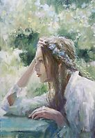 Wind from the east...(Oil version) by vasenoir