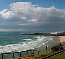 Storm pano from Pt Danger 3 Sept 2010 by Odille Esmonde-Morgan
