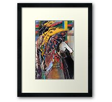 Contemplation amongst the Cherry Blossoms #2 Framed Print