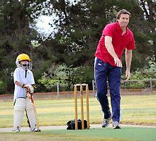 Booborowie Cricket  by Penny-Lee Kittel