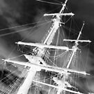 Ghost Masts by Janet Rogerson