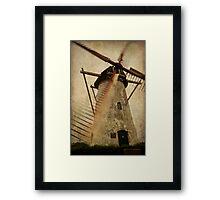 Brassers Molen, Biggekerke Framed Print
