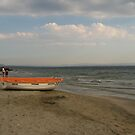 August morning at the beach by Maria1606